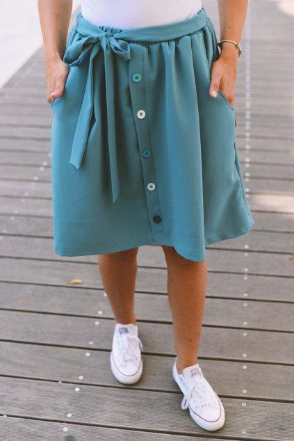 Sukně Johari Blue