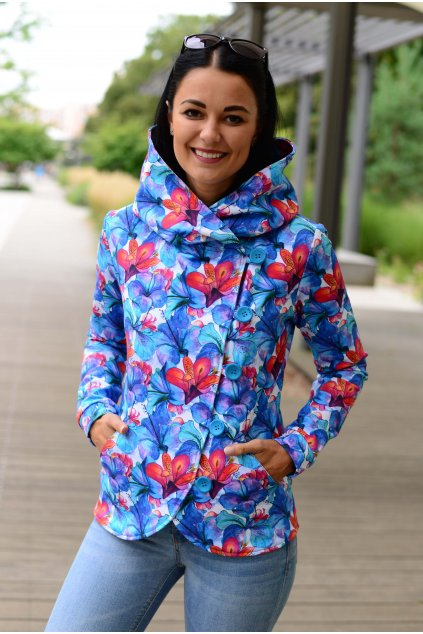 Kabát Dream Blue Flowers