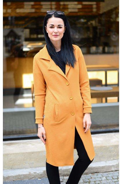Kabátek Elodie Mustard