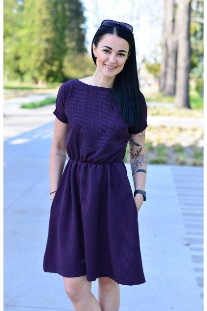 Šaty Boho Blueberry