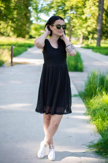 Šaty Mene Black