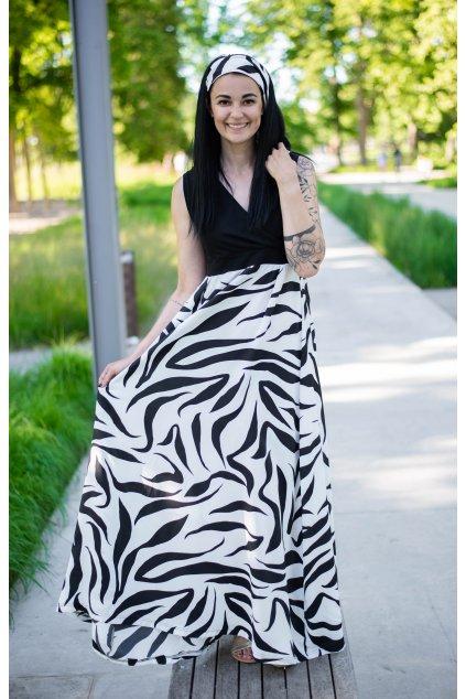 Šaty Shani B&W