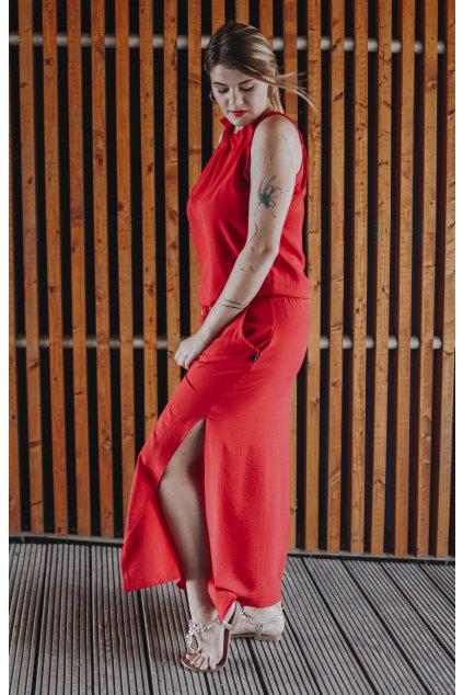 Šaty Breeze Long Red