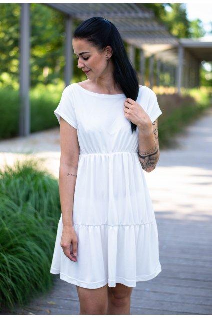 Šaty Dalila White