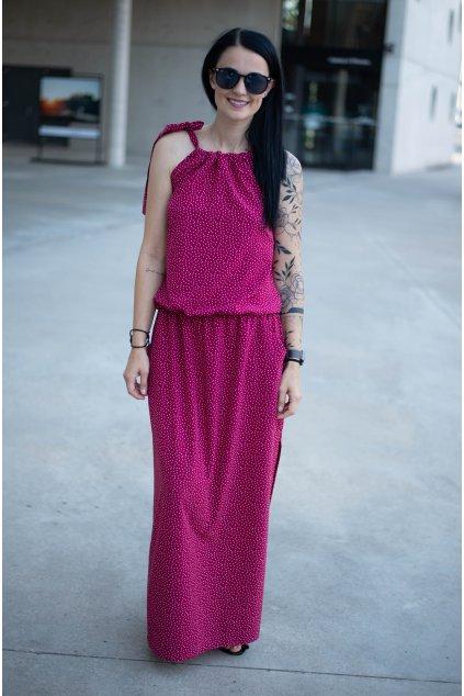 Šaty Breeze Long Raspberry