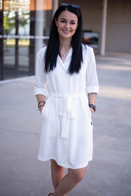 Šaty Nubee White