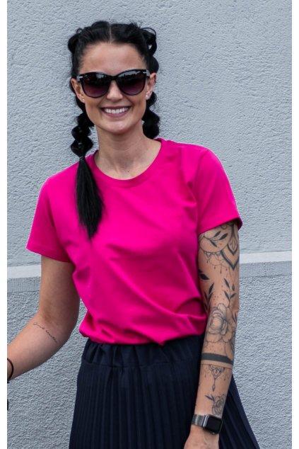 Tričko Basic Pink