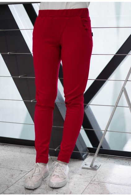 Kalhoty Elli Red