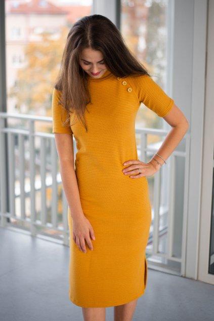 Šaty Asante New Mustard