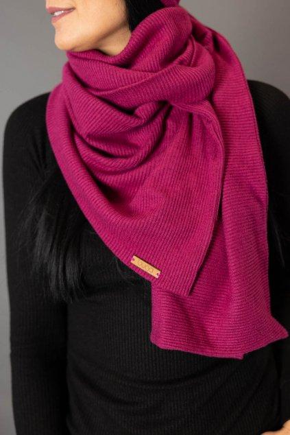 Šála Pink  Stripe