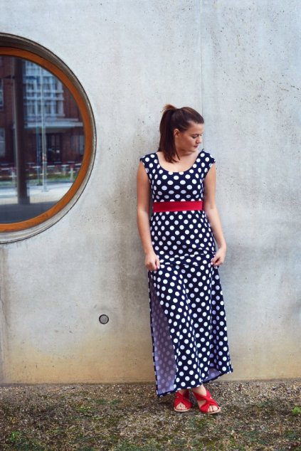 Šaty Ladybird long bluedott