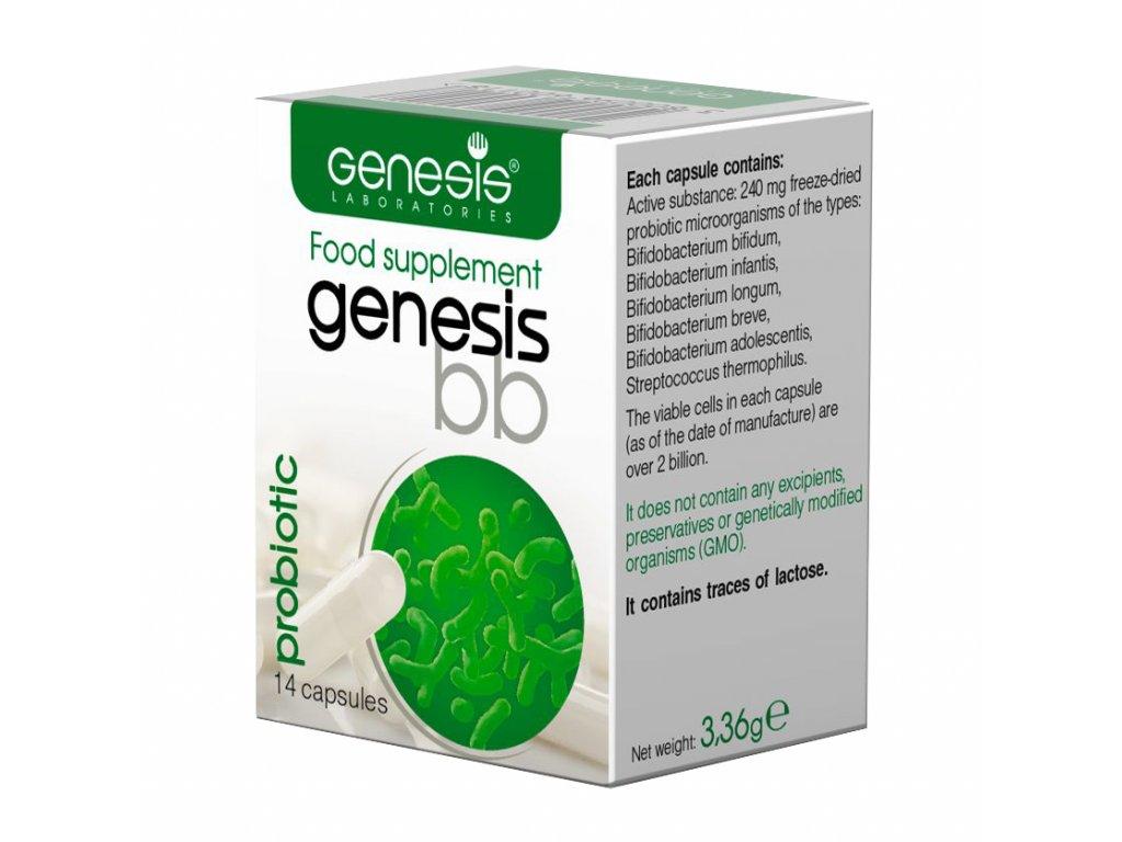 probiotika genesis bulgaricus Probiotic bb 14 cap EN 1