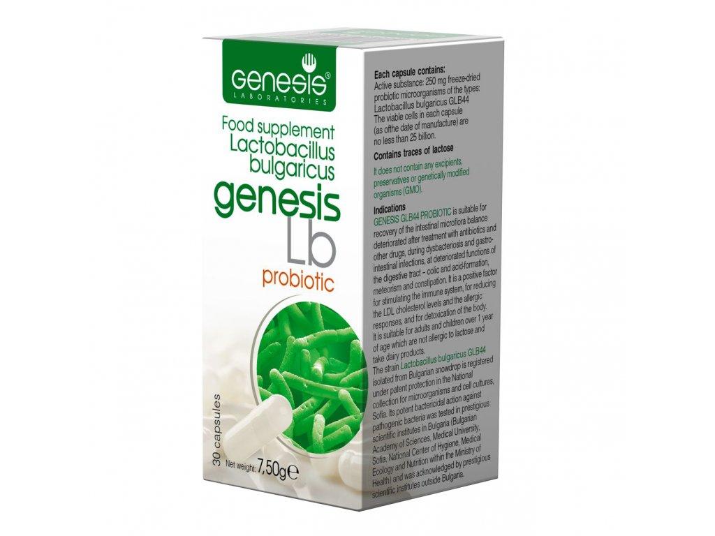 probiotika genesis bulgaricus Probiotic Lb 30 cap EN 1
