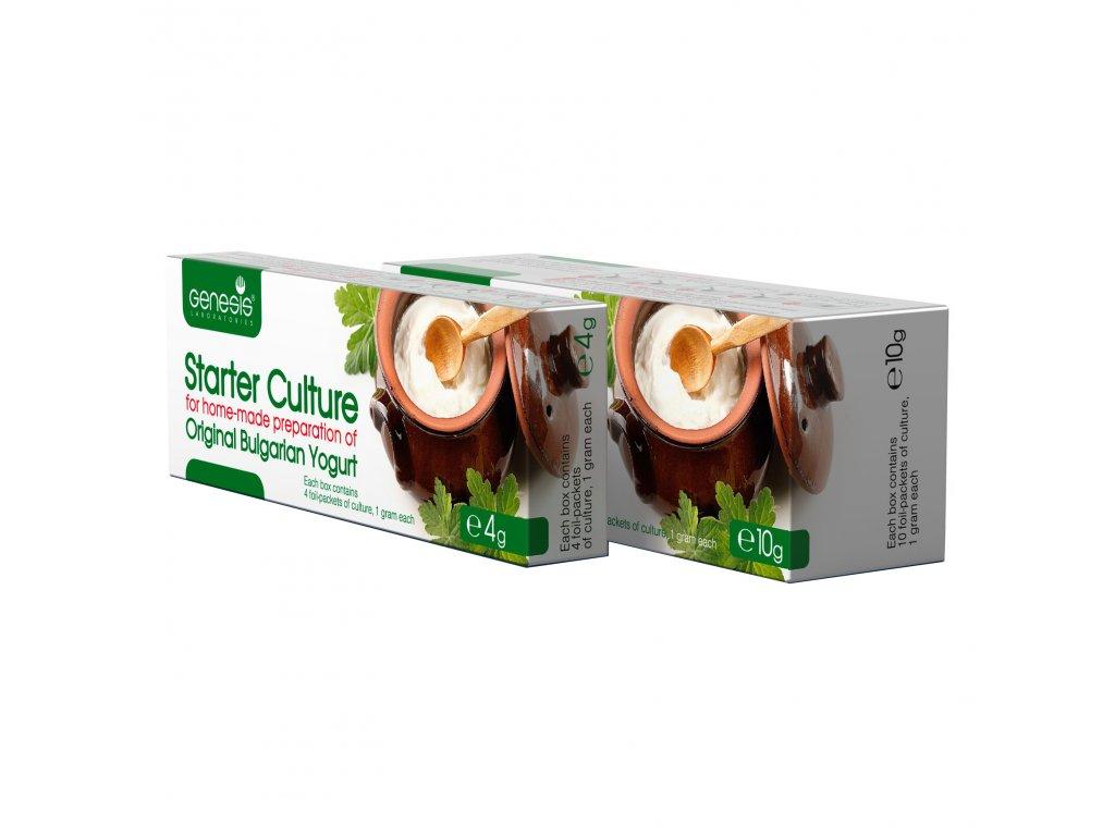 originalni bulharska jogurtova kultura Zakvaski Kiselo Mlqko 4+10g EN 1