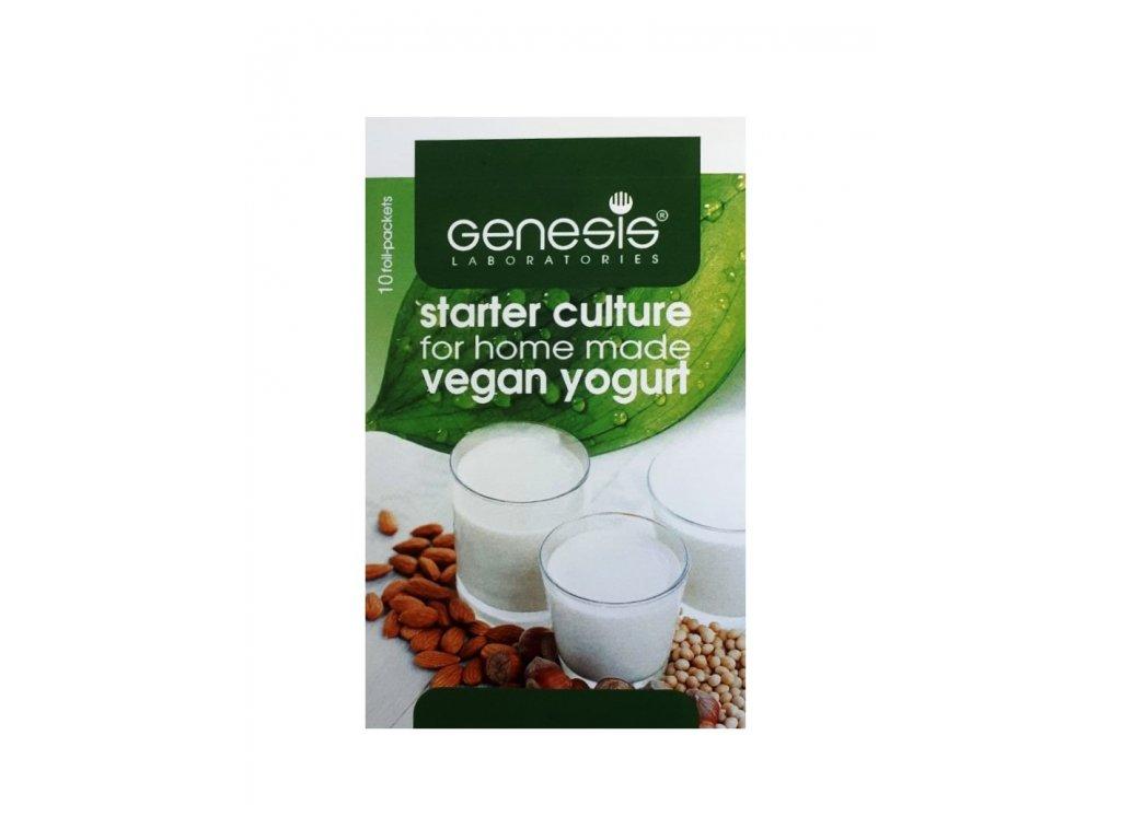 home made vegan yogurt 10s