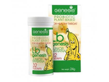 bulharska prirodni probiotika pro deti Banan 32 tablet
