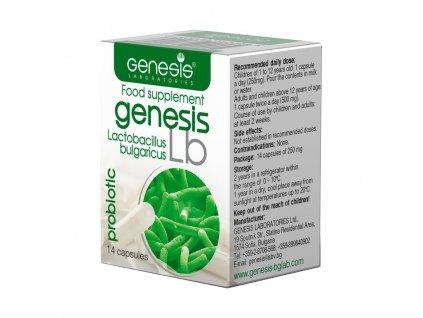 probiotika genesis bulgaricus Probiotic Lb 14 cap EN 1