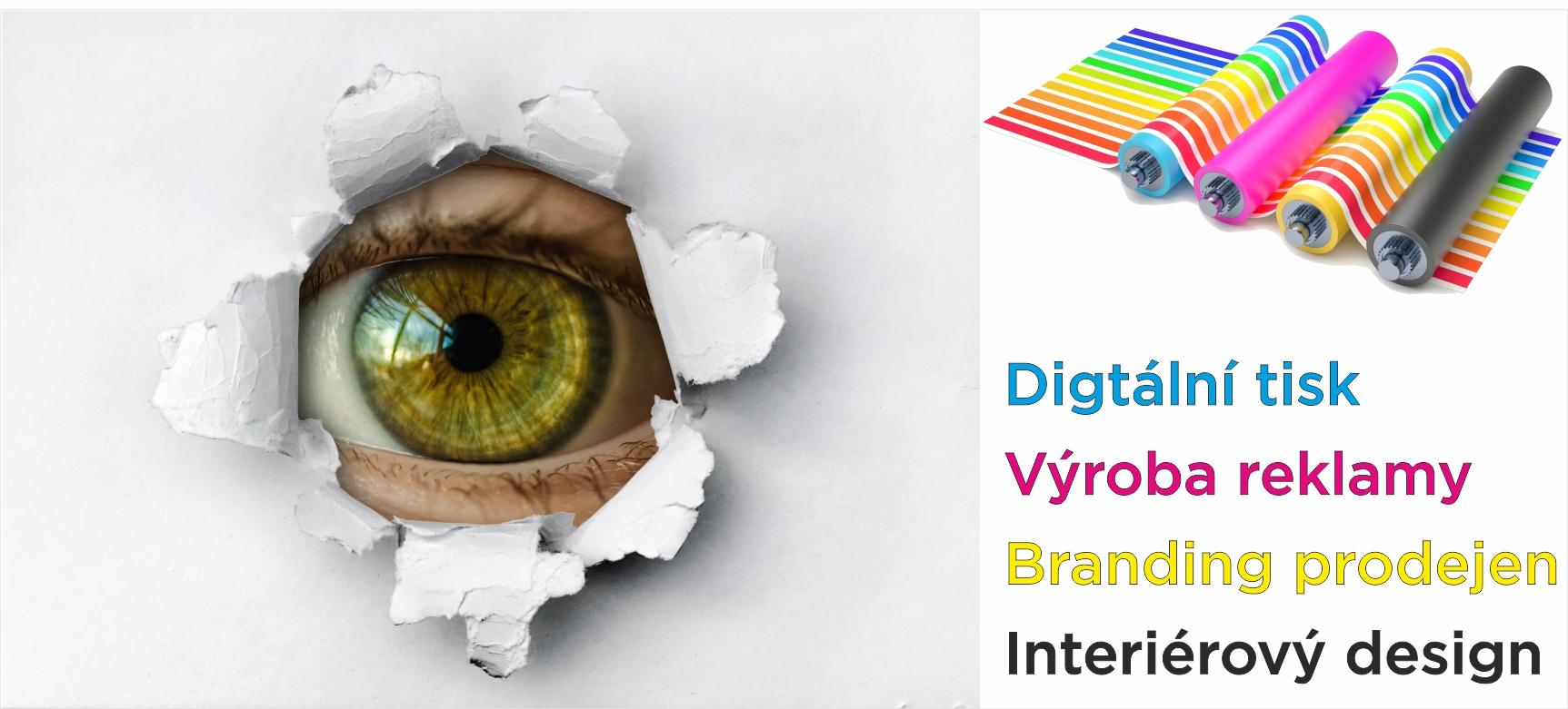 digitální tisk design branding