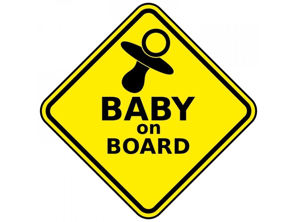 Dítě v autě 1