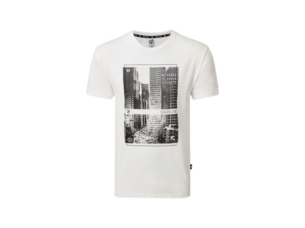 Pánské tričko Dare2B DMT522 Token Bílé