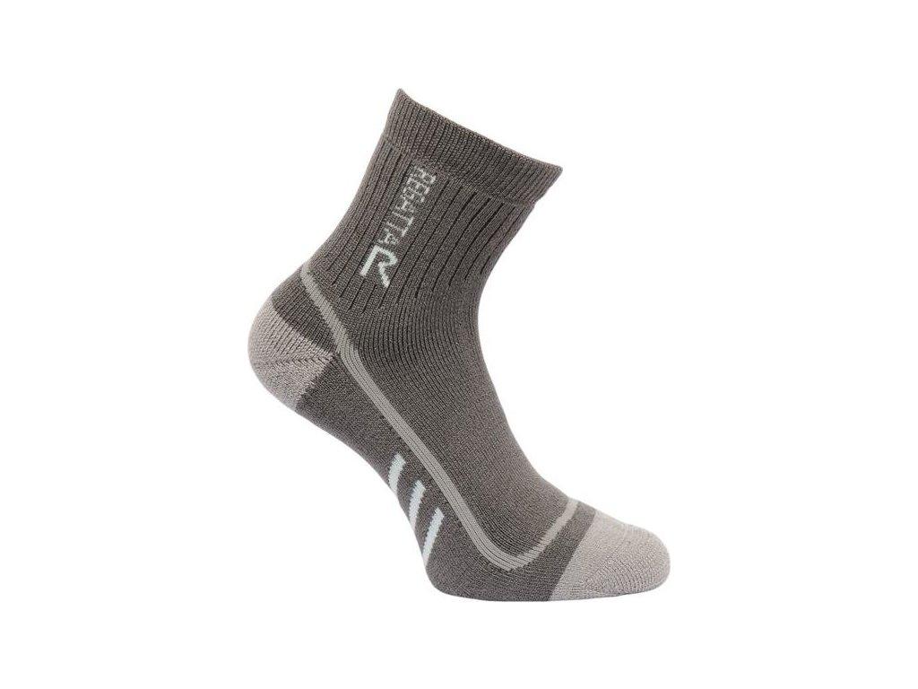 101261 damske trekingove ponozky regatta rwh032 trektrail seda