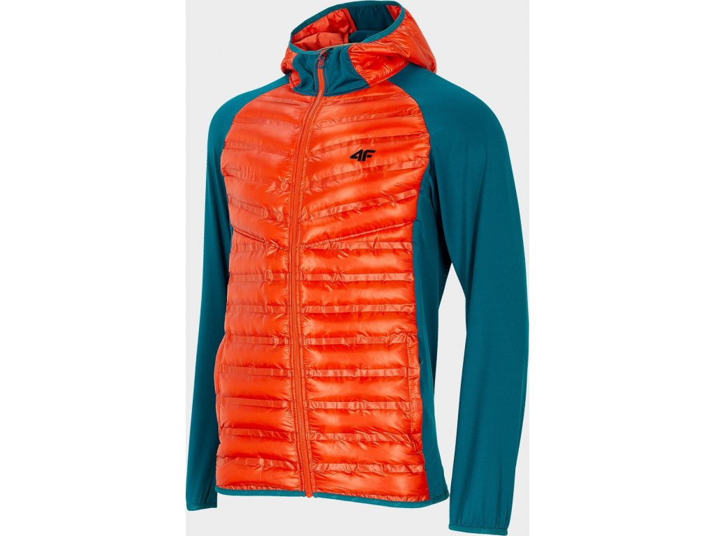 101345 panska outdoorova bunda 4f kumh207 oranzova