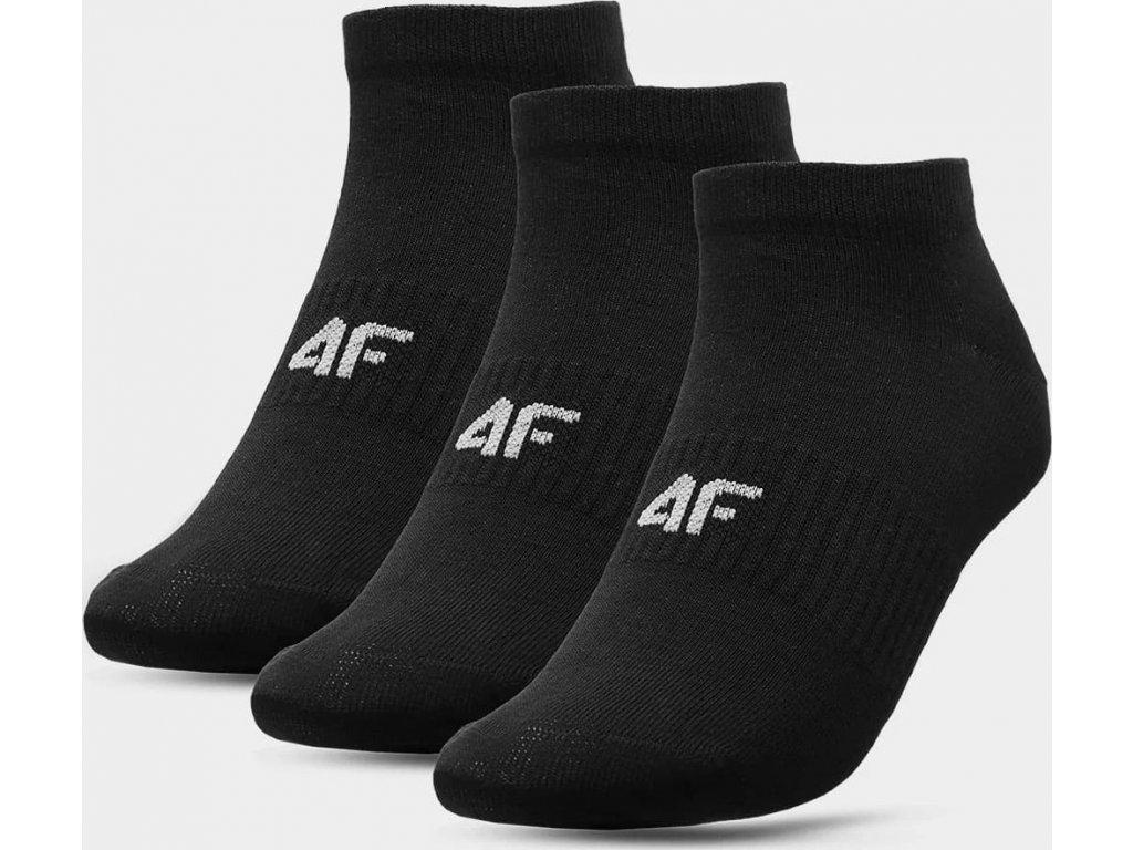 Dámské ponožky 4F SOD302A Černé