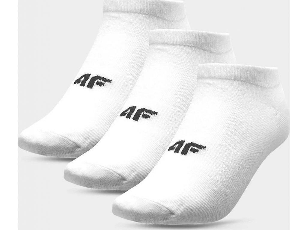 Dámské ponožky 4F SOD302A Bílé