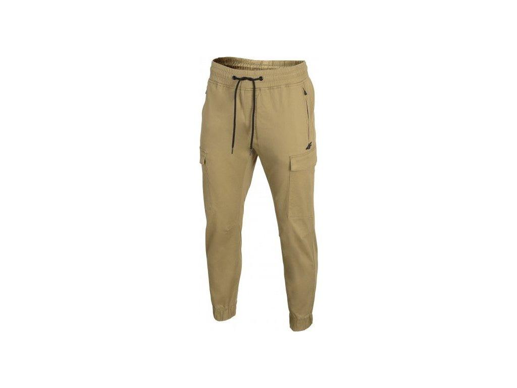 Pánské kalhoty 4F SPMC301 béžové