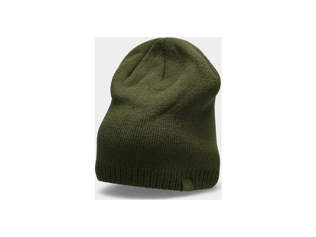 Pánská čepice 4F CAM300 khaki