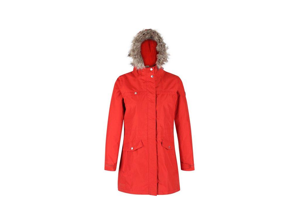 Dámský zimní kabát Regatta Serleena II Červený
