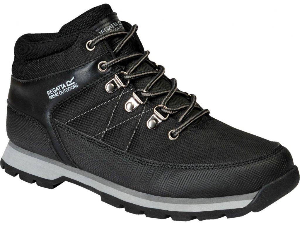 Pánská zimní obuv Regatta RMF681 Aspen Černá