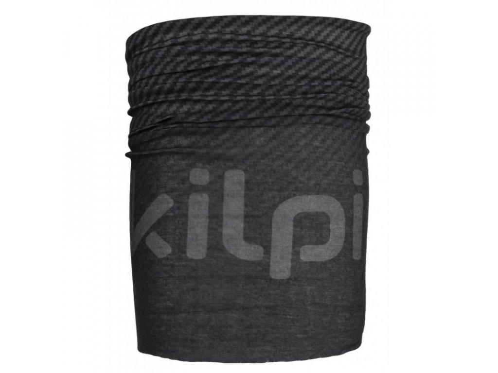 Univerzální šátek Bebeh-u černý - Kilpi UNI