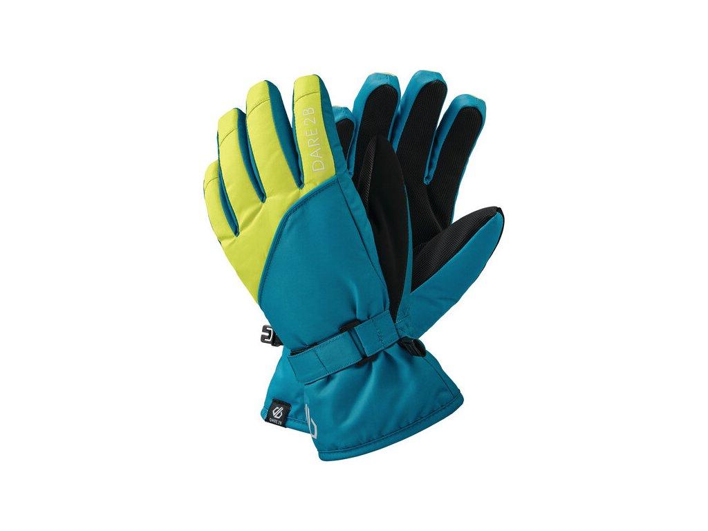 Dětské rukavice lyžařské Dare2B DBG318 Mischievous II Gl D20 Modré