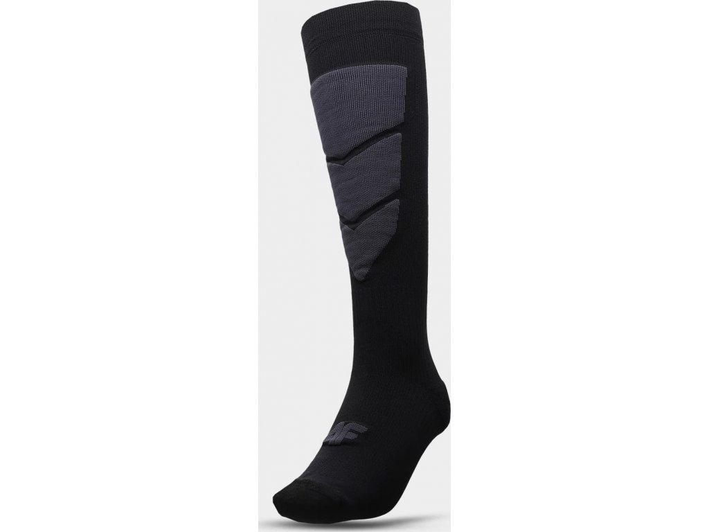 Pánské lyžařské ponožky 4F SOMN300 Černé