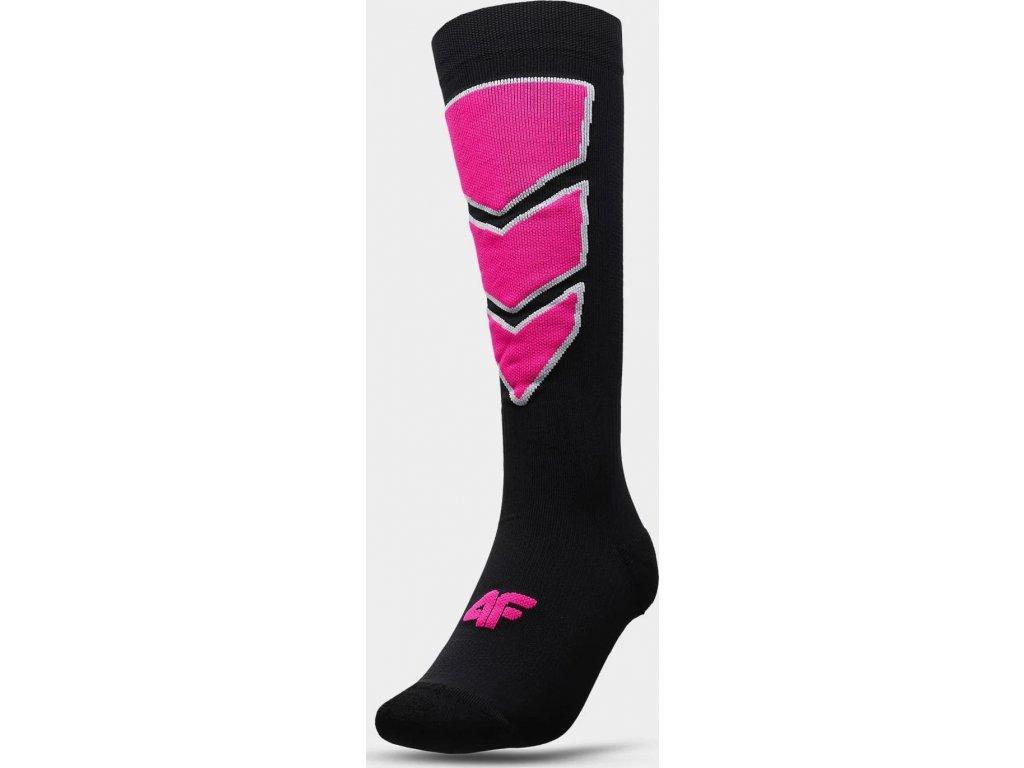 Dámské lyžařské ponožky 4F SODN300 Černé