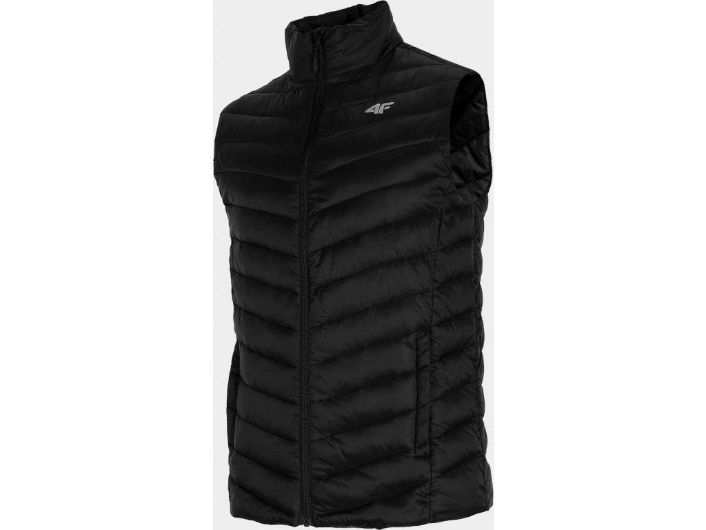 Pánská vesta 4F KUMP001 černá