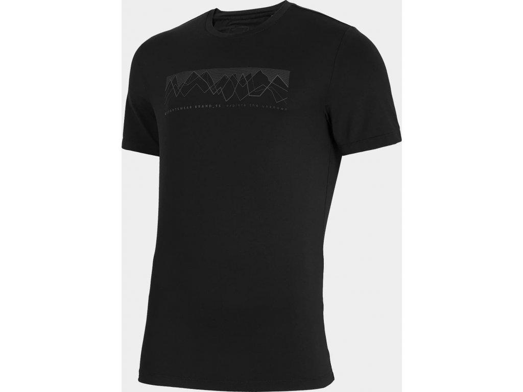 Pánské funkční tričko 4F TSMF060 černé