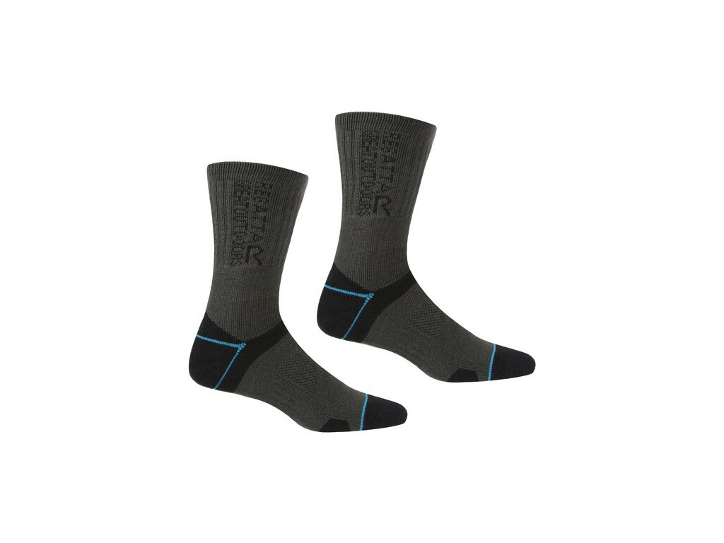Dámské ponožky Regatta RWH043 BlisterProtect II 82G šedé