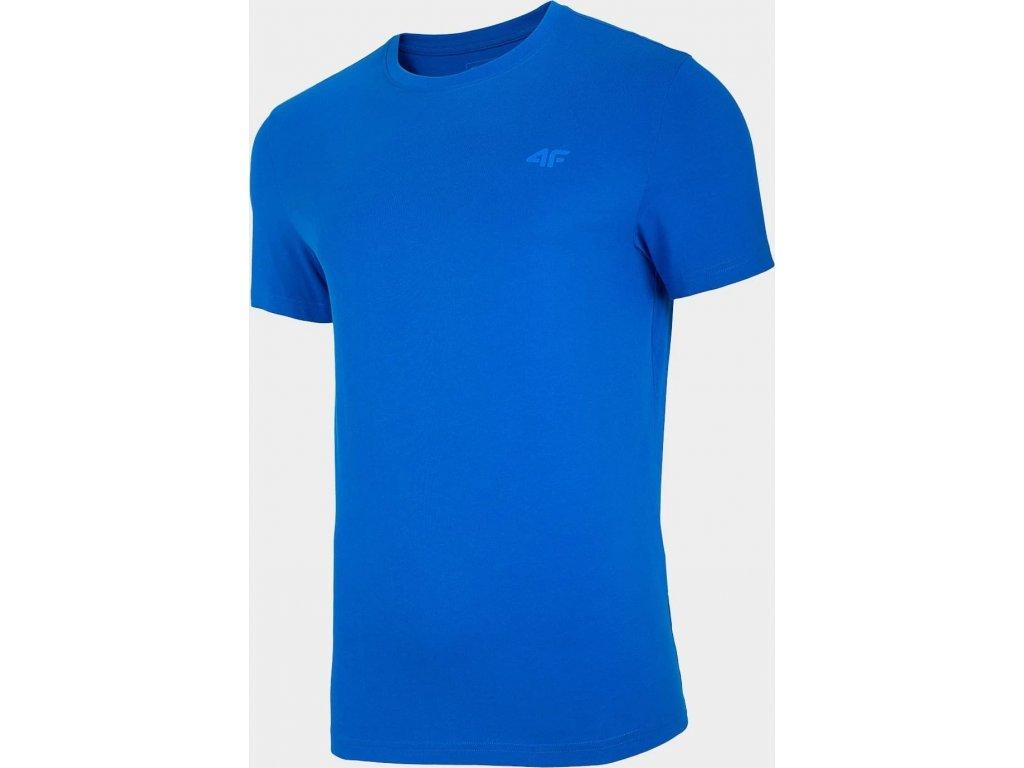 Pánské tričko 4F TSM003 Modré