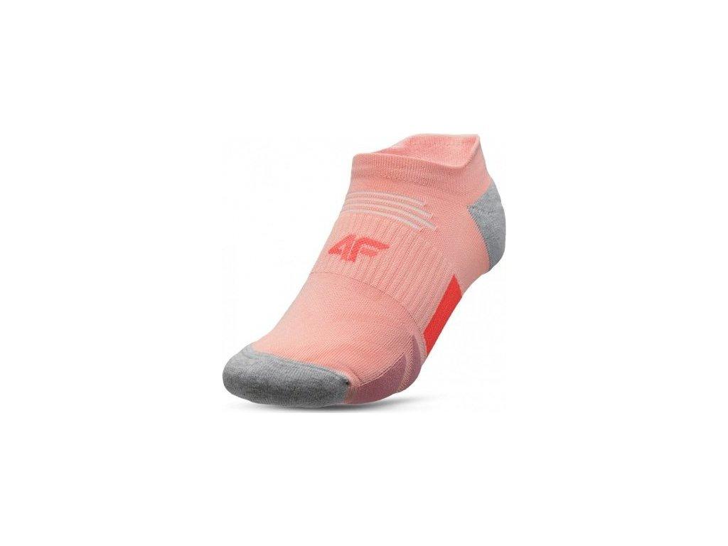 Dámské ponožky 4F SOD001 růžové