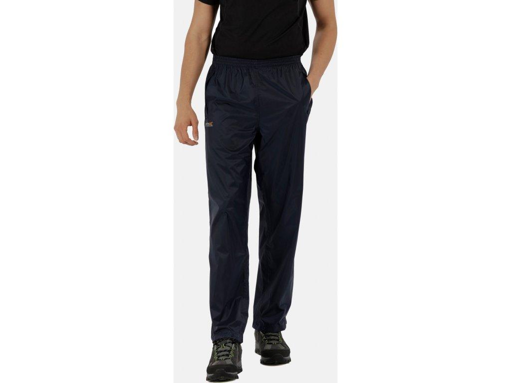 Pánské kalhoty Regatta RMW149 Pack It Overtrousers  20l Tmavě modré