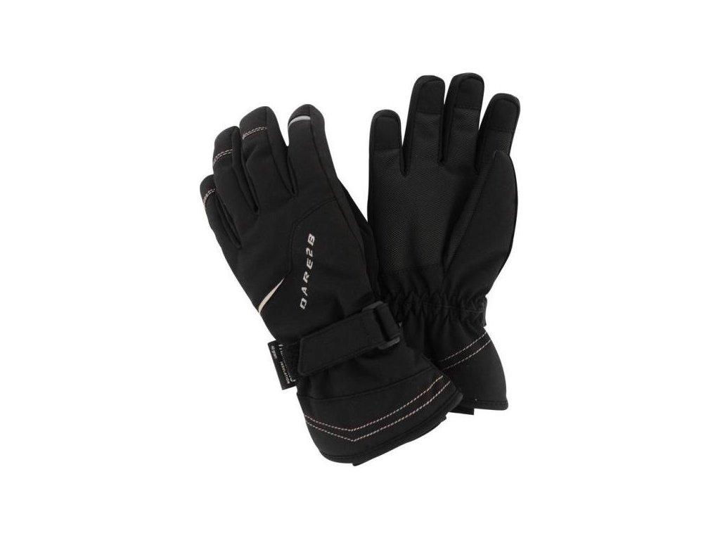 Dětské lyžařské rukavice Dare2B DBG300 HANDFUL Black