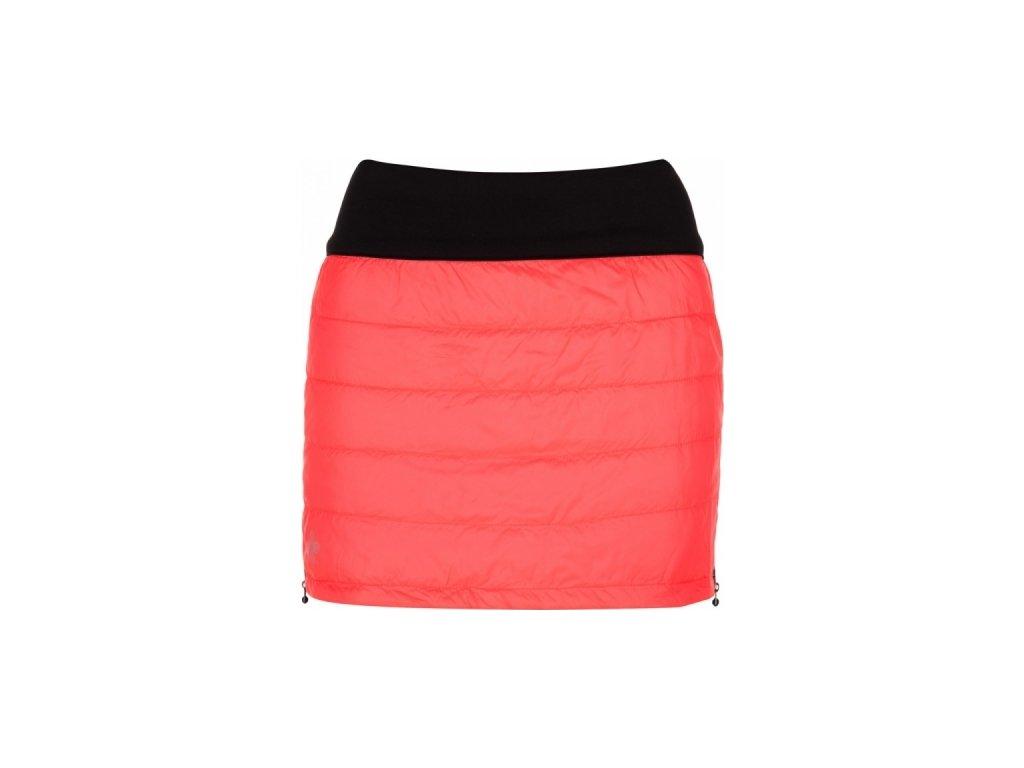 Dámská zateplená sukně KILPI MATIRA-W Růžová 18