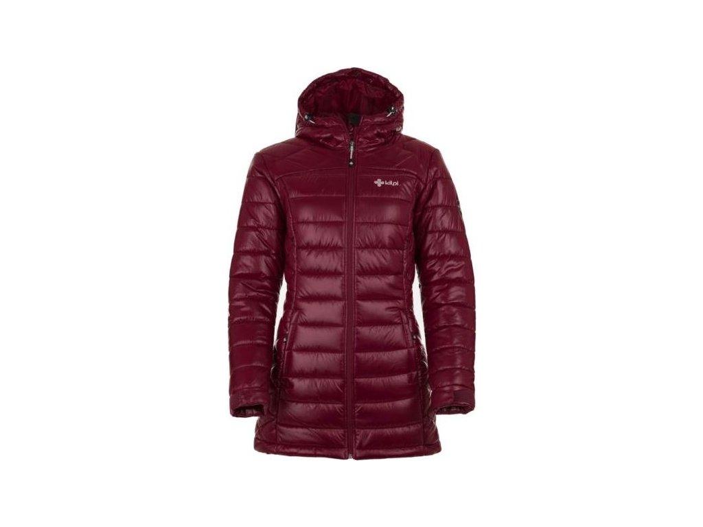 Dámský zimní kabát KILPI SYDNEY-W SYDNEY-W Červená 18