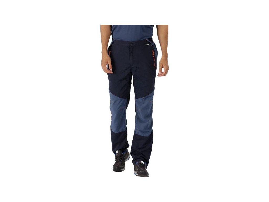 73518 panske outdoorove kalhoty rmj193r sungari modra