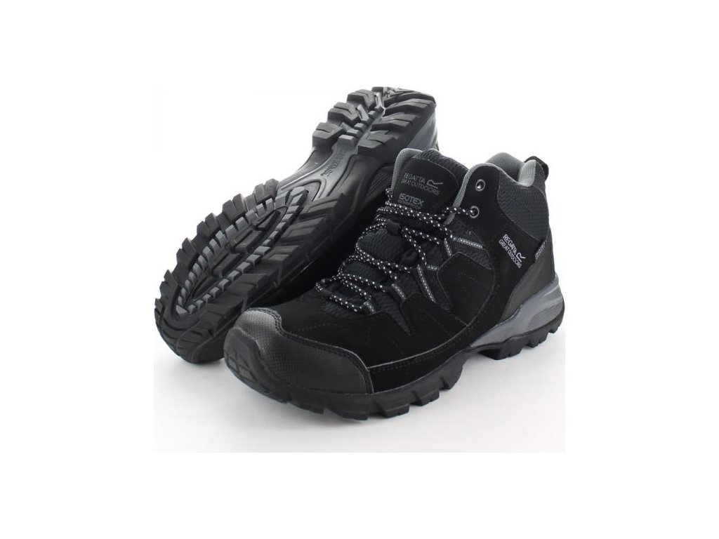 77815 panska obuv regatta rmf459 holcombe mid black granit