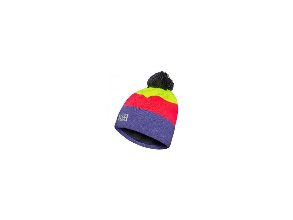 Dívčí zimní čepice LEGO® Wear AIDEN 714 Růžová