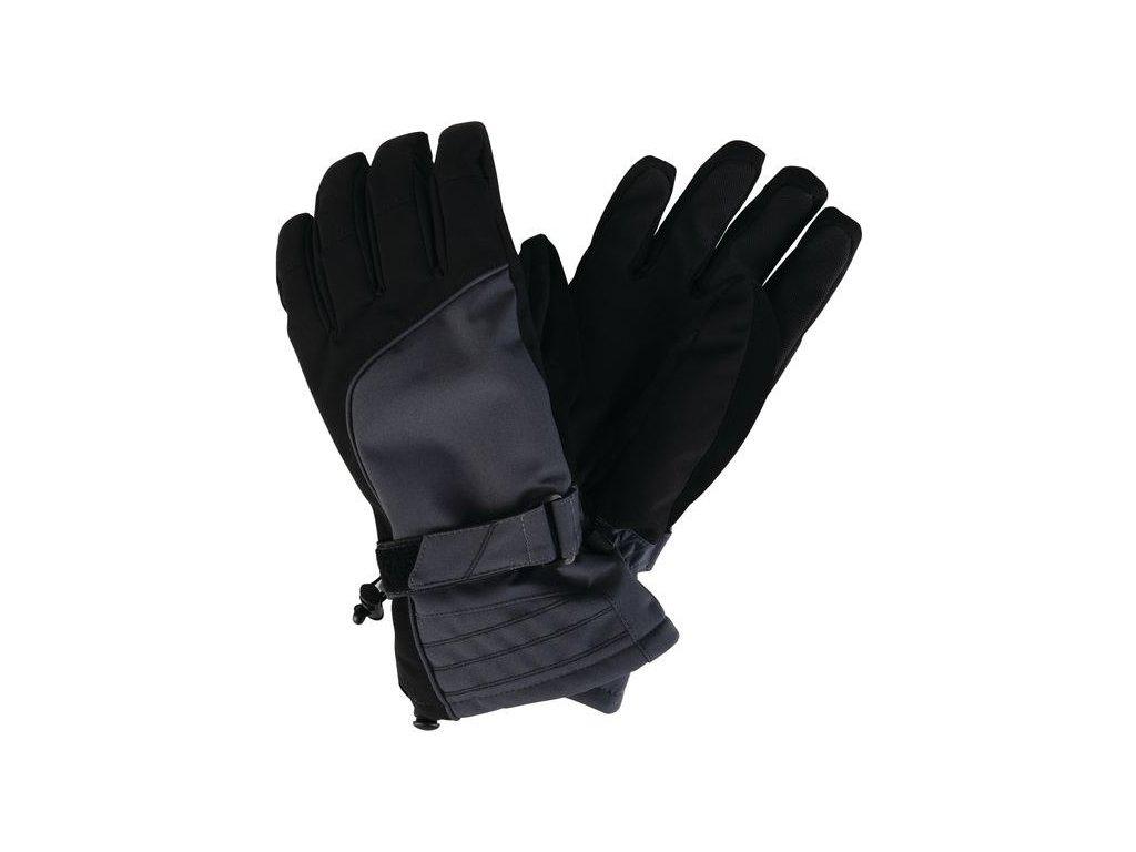 Pánské softshellové rukavice Dare2B OUT RANKED Glove Šedá