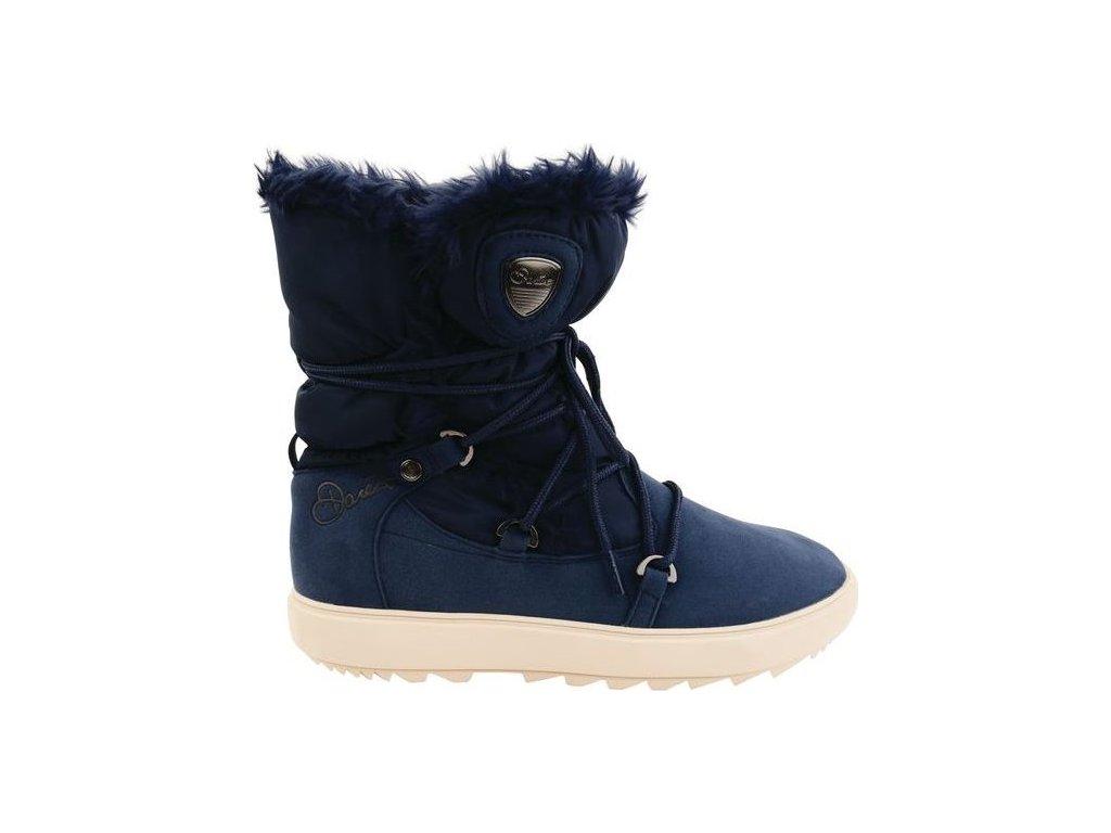 Dámské zimní boty DWF313 DARE2B Karellis Modré